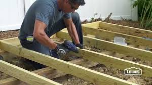 How To Build A Shed Foundation Youtube