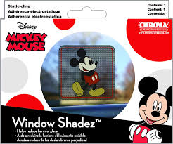 Amazon Com Chroma 42001 Mickey Mouse Window Shadez Decal Automotive