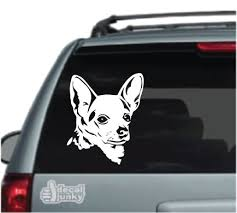 Chihuahua Car Decals Stickers Decal Junky