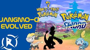 Pokemon Sword & Shield Jangmo o evolved in to - YouTube
