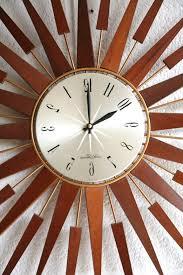 sunburst clock seth thomas for in