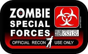 1 3 X 5 Special Forces Official Use Spotter Decal Sticker Window Car 1289 Ebay