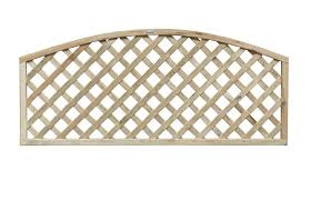 Heavy Duty Convex Lattice Trellis Panel Cocklestorm Fencing
