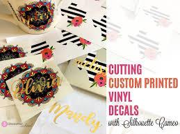 Custom Printed Vinyl Decals Silhouette Pixscan Tutorial Hack Silhouette School Bloglovin