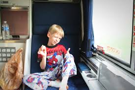 Overnight Travel On An Amtrak Train With Kids The Roomette The Family Trip