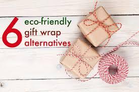 6 eco friendly gift wrap alternatives