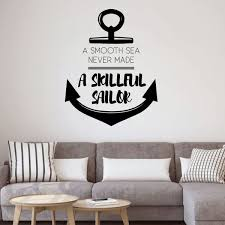Handmade Products Stickers Vinyl Decorations For Boys Or Girls Bedroom Playroom Black Other Colors Let Your Dreams Set Sail Quote Green White Red Pink Bathroom Blue Or Baby Nursery Children Sailing Wall
