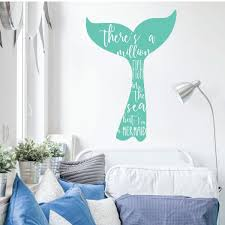 Mermaid Wall Decal Im Vinyl Decor Wall Decal Customvinyldecor Com