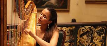 harpists for hire hire a solo wedding
