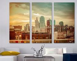 Kansas City Wall Art Etsy