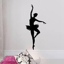 Ballerina Wall Sticker Ballet Dancer Wall Decal Ballerina Decoration Ebay