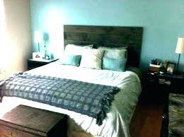 king headboard only wall mounted wood