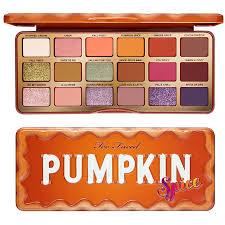 too faced pumpkin e collection for