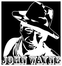 John Wayne Wall Decal Contemporary Wall Decals By Style And Apply