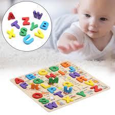 Đồ chơi xếp hình chữ cái 3D bằng gỗ nhiều màu sắc cho bé, giá chỉ ...