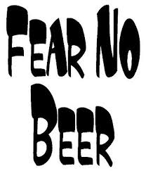Fear No Beer Funny Drinking Car Truck Window Wall Gift Vinyl Decal Sticker Ushirika Coop