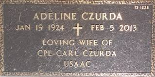 Adeline Kelly Czurda (1924-2013) - Find A Grave Memorial