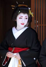geisha makeup hairstyles and history