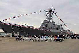 USS Ralph Johnson Joins Fleet in Namesake's Hometown
