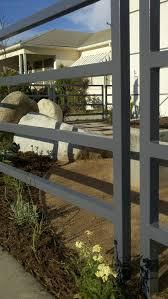 Horizontal Metal Fencing Houzz