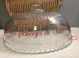 glass cloche food display glass dome
