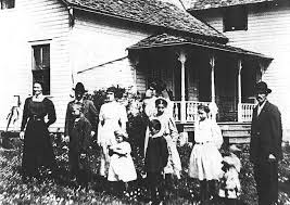 The children of Emery Harrison and Louisa Carrie Hofmeister