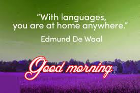 324 good morning es in english