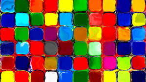 rainbow colors tiles bright