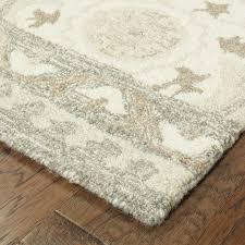 renae hand looped wool ivory area rug