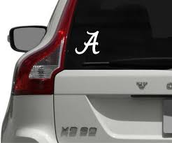 University Of Alabama Decal Crimson Tide Football Roll Tide Etsy