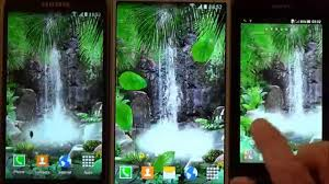 free 3d waterfall live wallpaper for