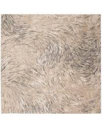 """Find the Best Deals on Williston Forge Wendi Abstract Ivory/Gray Area Rug  XMGS5725 Rug Size: Rectangle 5'3"""" x 7'6"""""""