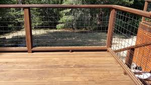 Thermalwood Snap To It Ash Deck In Occidental With Wild Hog Wire Rail Deck Master Fine Decks