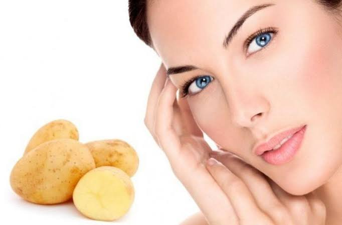وصفات البطاطس للبشرة