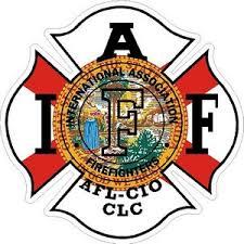 Florida Iaff International Association Firefighters Vinyl Sticker At Sticker Shoppe