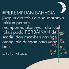 perempuan bahagia jikapu quotes writings by indari mastuti