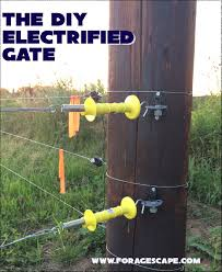 Diy Electrified Gate Foragescape Farm Llc