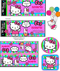 Imprimible Invitaciones Hello Kitty 50 00 En Mercado Libre