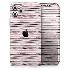 Karamfila Marble Rose Gold Striped V8 Designskinz Protective Vinyl Decal Wrap Skin Cover Compatible With The Apple Iphone 11 Pro Full Body Screen Trim Back Glass Skin Walmart Com
