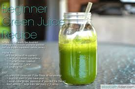 beginner green juice recipe