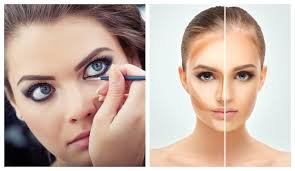 makeup tips for round face and big eyes