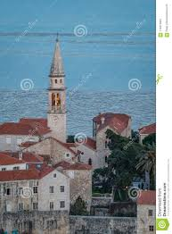 Church Of St Ivan Bell Tower At Dusk Stock Photo - Image of blue, heritage:  114817842