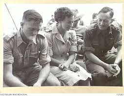 AT SEA ABOARD POW EVACUATION SHIP CIRCASSIA, 1945. RED CROSS WORKER IMELDA  SMITH OF ADELAIDE ... | The Australian War Memorial