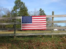 American Flag Fence Free Photo On Pixabay