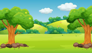a flat nature background