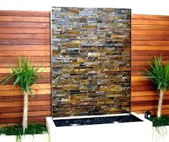 outdoor water wall outdoor wall