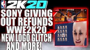 SONY GIVING REFUNDS FOR GLITCH 2K GAME ...