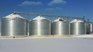 frame grain storage silos