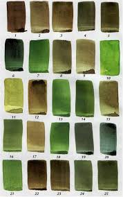 color mixing for artists mixing green