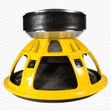 Subwoofer Loudspeaker Vehicle audio Amplificador Sound pressure, ground zero  point nemo, subwoofer, amplificador, yellow, world Trade Center, vehicle  Audio png